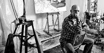 Tom Christopher's Studio / Works in progress