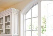 "Arch Windows / What a beautiful way to compliment the architecture and design of your home! Arched windows can create visual  interest, character and make your home that much more ""yours"""