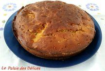 Gâteaux et tartes / Es gâteaux et des tartes cuisines au fil des jours