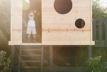 Outdoor Play / Outdoor ideas and structures built for play.