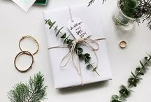 Giftables / Beautiful ways and wrapping ideas to gift bonnets.