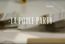 Poule Party / Poule Party mardi 30 octobre 2012 : un nouveau genre d'after work sexy et décomplexé à l'image de l'agence de communication WAW