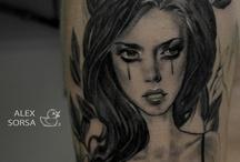 my girls....tattoo.....