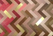 Flooring Inspiration / Interesting and inspirational flooring that show how a floor can transform a room.