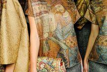 В / Gold Embroidery Mosaic Inspiring