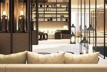 Cool hotels, restaurants designs
