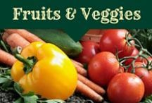 Fruit & Vegetable Gardening / #edible_gardening #raised_bed_gardening - our favorite tips for growing fruits and vegetables