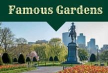 Famous New England Gardens / gardens that inspire us in New England