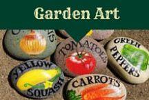 Garden Art / pottery, statuary, and garden art inspiration