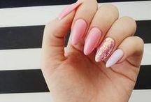 nails / hybryda / przedłużenie żelowe + hybryda