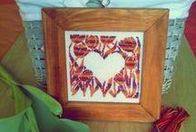 Nádirigó Éneke / my blog cross stitch