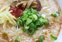 Congee, 粥, Rice porridge / I begin to take congee quite often, loving it now / by Yoksian Lee
