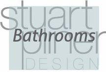Luxury Lifestyle - Bathrooms / Stuart Pliner Design inspirational bathroom interior design and home decor