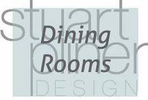 Luxury Lifestyle - Dining Rooms / Stuart Pliner Design inspirational dining room design and home decor