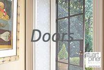 Shut the Door / Stuart Pliner design inspirational door design