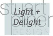 Light and Delight / Stuart Pliner Design inspirational lighting design and lighting fixtures