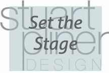 Set the Stage / Stuart Pliner Design inspiration for the styling of interiors