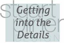 Getting Into the Details / Stuart Pliner Design inspiration for interior design details