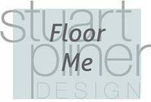 Floor Me / Stuart Pliner Design inspiration for interior design flooring options