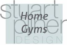 Luxury Lifestyle - Gyms / Stuart Pliner Design's inspiration for interior design and home decor of at home gyms