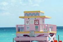 | Mesmerizing Miami | / Miami is pretty in pastels, don't ya think?