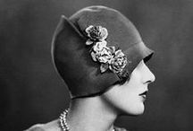 20s cloche hat / by Only Wonderful