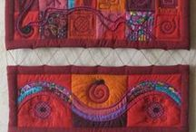 Creative textiles for Redshoo / I honour the women at Creative Textiles in Bunbury Western Australia, who have shared their handcrafted skills and wisdom with me as a student of creative practice and awakened me to a world of infinite possibilities.