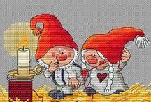 Vánoce - Vyšívání