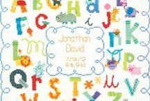 vyšívání - abecedy