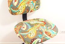 Upholstery Ideas / Check out these creative ideas for upholstery fabric!