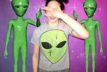 Alien Style / Space Grunge/Sea Punk