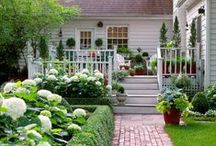 Classic Landscapes: / Traditional, Classic Landscapes. These are timeless classics. they utilize lush plantings in rounded, natural gardens. emphasis on floral displays and seasonal changes. they are opulent and ornate, yet humble and often inexpensive to create.  a classic landscape is one that doesn't date.