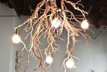 Lighting / Lamps, chandeliers, string lights etc.