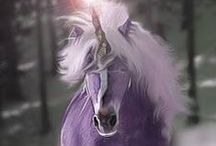 Unicorns / #horses #unicorns #dreamer