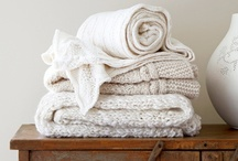 Bedding, towels, linens and textiles / by Amy