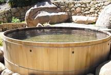 Custom Built Wooden Hot Tubs