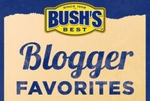Bush's Blogger Favorites / We partner with our favorite home chefs and bloggers to create Bush's beans recipes that complement any meal. We've collected all their favorite recipes in one convenient place! / by Bush's Beans