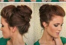 Hair Style / coiffures pour cheveux long.