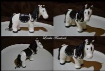 Koně z fondánu