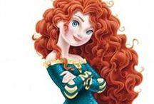 Princezna Merida (Rebelka)