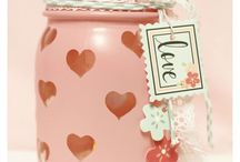 Valentine's Day Ideas / All the sweets, and sweet ideas, for celebrating Valentine's day with your loved one, family, and friends. DIY Valentine's Day ideas with tutorials, printables, and cute crafts!  #valentines #diy #valentinesday