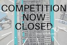 COMPETITION BOARD / For your chance to own a Jo Peel limited edition print all you have to do is  a) identify which city one of these prints represents and  b) write the name of the city in the comments box and tell us WHY you would like to win one of the limited edition prints. Remember to include your twitter handle and/or email address so that we can notify you.