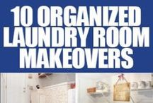 Laundry Room Organization / Connect with us... www.psorganizing.com  www.facebook.com/practicalsolutions www.Twitter.com/psorganizing