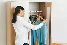 Closet Organization / Connect with us... www.psorganizing.com  www.facebook.com/practicalsolutions www.Twitter.com/psorganizing