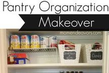 Pantry Organization / Connect with us... www.psorganizing.com  www.facebook.com/practicalsolutions www.Twitter.com/psorganizing
