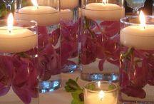 Decoración con velas / Bodegón velas