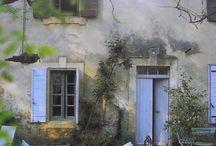 French cottage / Decoración rústica francesa