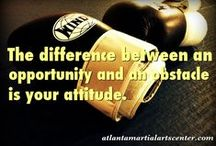 Martial Arts Quotes / Motivational, inspirational and tell it like it is!