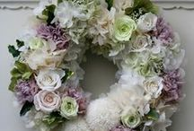 .: Wreaths :. / Decorations for our front door.