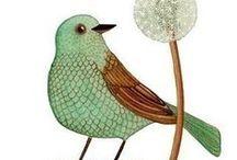 Pajaritos, pajarotes, pajarones... / Aves de todo tipo.
